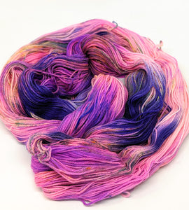 Frenzy, 100% Super Wash Merino Yarn, Hand Dyed Fingering/Sock Yarn