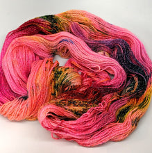 Load image into Gallery viewer, A Pink Explosion- Variegate, Shimmer Yarn, Hand Dyed Fingering/Sock Yarn