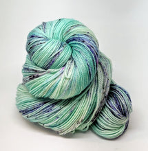 Load image into Gallery viewer, Baby Blues, 100% Super Wash Merino Yarn, Hand Dyed Fingering/Sock Yarn