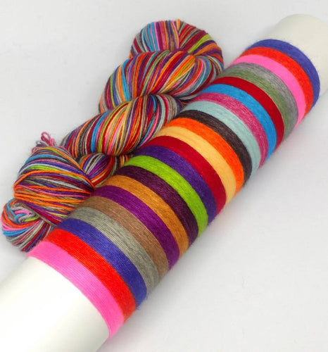 Every Flavor Beans - 20 Stripe Self Striping, Dyed To Order