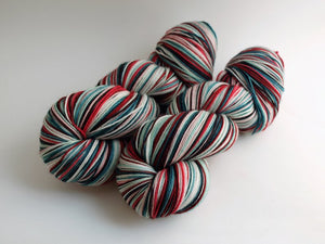 Frozen Berries - 10 Stripe Self Striping, Dyed To Order