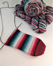 Load image into Gallery viewer, Frozen Berries - 10 Stripe Self Striping, Dyed To Order