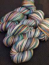 Load image into Gallery viewer, Cardigan - 20 Stripe Self Striping, DYED TO ORDER