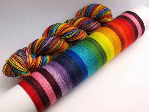 Chromatic - 20 Stripe Self Striping, Dyed To Order