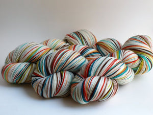 Color Me Happy - 20 Stripe Self Striping, Ready To Ship