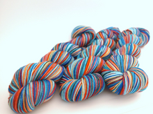 Load image into Gallery viewer, Cooler and Warmer - 10 Stripe Self Striping, Dyed To Order