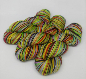 The Deathly Hallows - 20 Stripe Self Striping, Ready To Ship