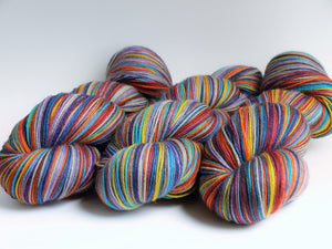 Discombobulated - 20 Stripe Self Striping, Dyed To Order