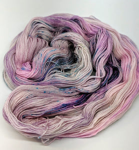 Lilac, 100% Super Wash Merino Yarn, Hand Dyed Fingering/Sock Yarn