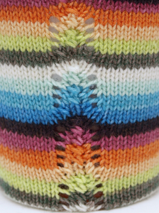 Flutter-by - 10 Stripe Self Striping, Dyed To Order