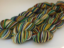 Load image into Gallery viewer, House Colors - 20 Stripe Self Striping, DYED TO ORDER
