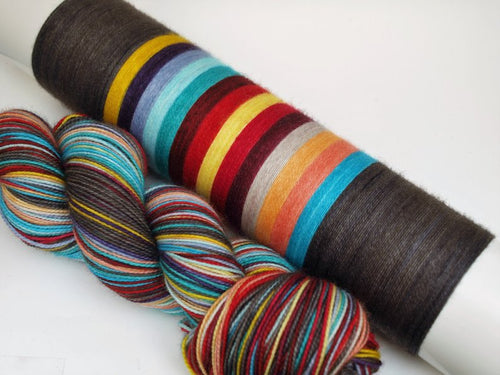A Magical Solution - 20 Stripe Self Striping, DYED TO ORDER