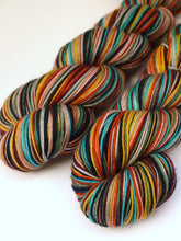 Load image into Gallery viewer, Menorah - 10 Stripe Self Striping, Dyed To Order
