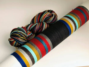 I Make GREAT Mistakes - 20 Stripe Self Striping, Dyed To Order