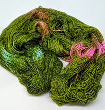 Load image into Gallery viewer, Olive- Variegate, Shimmer Yarn, Hand Dyed Fingering/Sock Yarn
