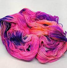 Load image into Gallery viewer, Bonkers- Variegate, Sparkle Yarn, Hand Dyed Fingering/Sock Yarn