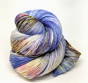 Across The Pond- Variegate, 100% Super Wash Merino Yarn, Hand Dyed Fingering/Sock Yarn