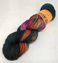 Load image into Gallery viewer, Festival- Variegate, Sparkle Yarn, Hand Dyed Fingering/Sock Yarn