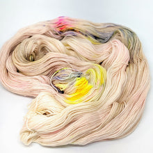 Load image into Gallery viewer, A Touch Of Sun- Variegate, 100% Super Wash Merino Yarn, Hand Dyed Fingering/Sock Yarn