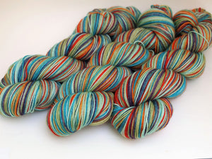 Parrot - 10 Stripe Self Striping, Dyed To Order