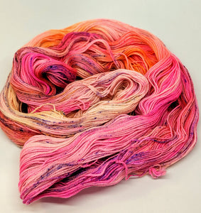 Toasty, 100% Super Wash Merino Yarn, Hand Dyed Fingering/Sock Yarn