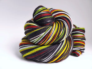 Rasta Baby v.2.0 - 10 Stripe Self Striping, Dyed To Order