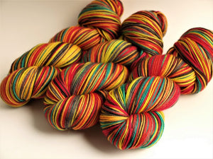 Fist Full Of Roses - 20 Stripe Self Striping, Ready To Ship