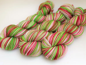 Seedless Watermelon - 10 Stripe Self Striping, Dyed To Order