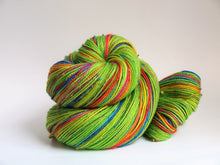 Load image into Gallery viewer, Shamrocks And Rainbows - 20 Stripe Self Striping, Dyed To Order
