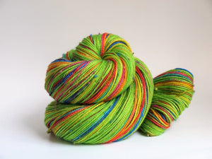 Shamrocks And Rainbows - 20 Stripe Self Striping, Dyed To Order