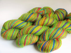 Shamrocks And Rainbows - 20 Stripe Self Striping, Ready To Ship