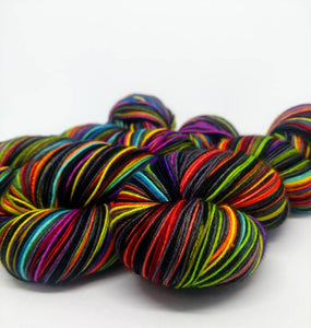 I Put A Spell On You - 20 Stripe Self Striping, Dyed To Order