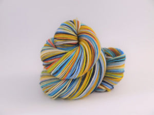 Sunshine On A Cloudy Day - 20 Stripe Self Striping, Dyed To Order