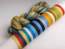 Load image into Gallery viewer, Sunshine On A Cloudy Day - 20 Stripe Self Striping, Dyed To Order