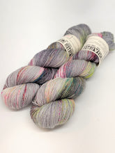 Load image into Gallery viewer, Euphoric- Variegate, Sparkle Yarn, Hand Dyed Fingering/Sock Yarn