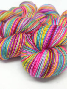 The Road Not Taken - 20 Stripe Self Striping, Dyed To Order
