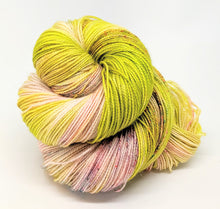 Load image into Gallery viewer, Bamboo- Variegate, Sparkle Yarn, Hand Dyed Fingering/Sock Yarn