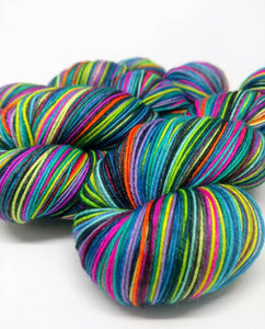 Wildfire Whizbangs - 20 Stripe Self Striping, Dyed To Order