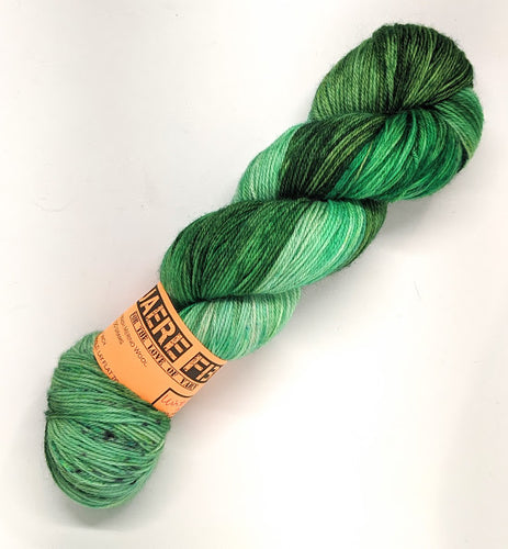 Winter Mint- Variegate, 100% Super Wash Merino Yarn, Hand Dyed Fingering/Sock Yarn