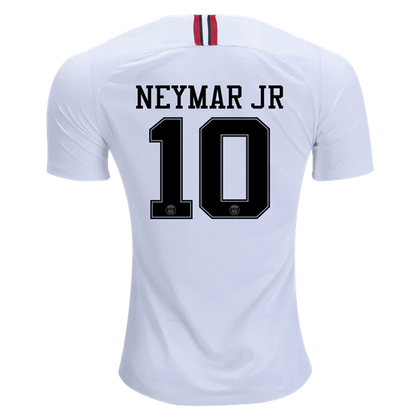 77d956e81030 Paris Saint Germain 18 19 Jordan White Jersey Neymar Jr.  10