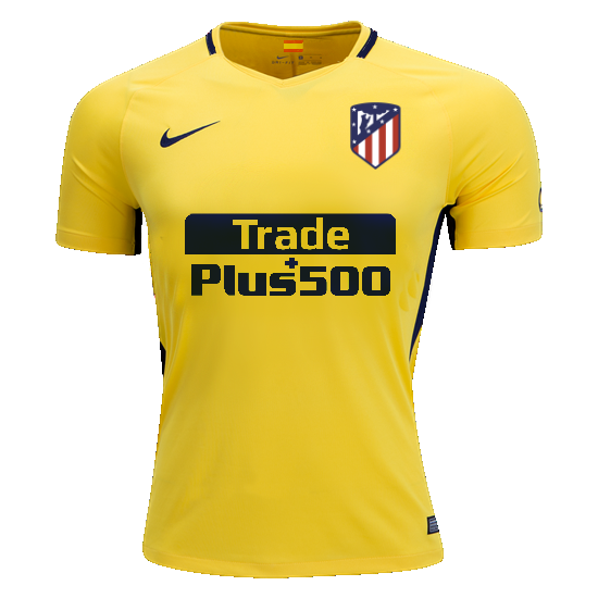 55c36f275be Atletico Madrid 17/18 Away UCL Jersey Griezmann #7 – Soccer Limited
