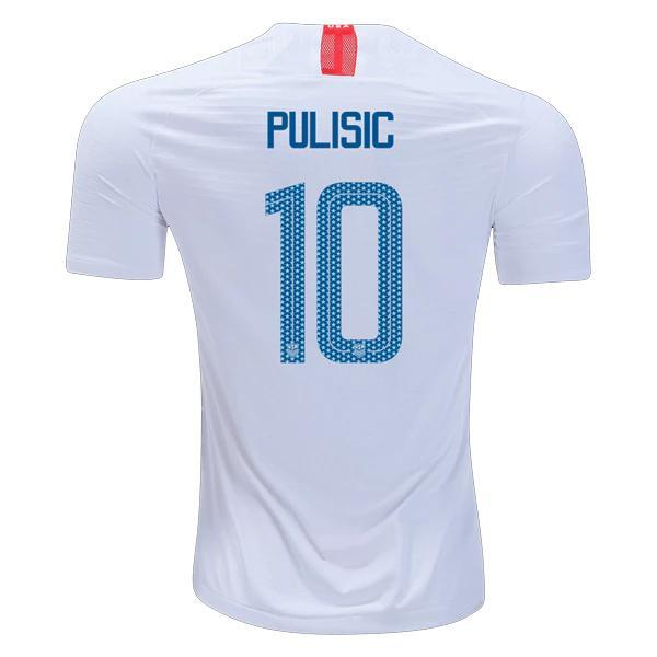 6b09064acb7 USA 2018 Home Jersey Pulisic  10 – Soccer Limited
