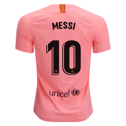 e58dbe5f36e Barcelona 18 19 Away Jersey Messi  10 – Soccer Limited