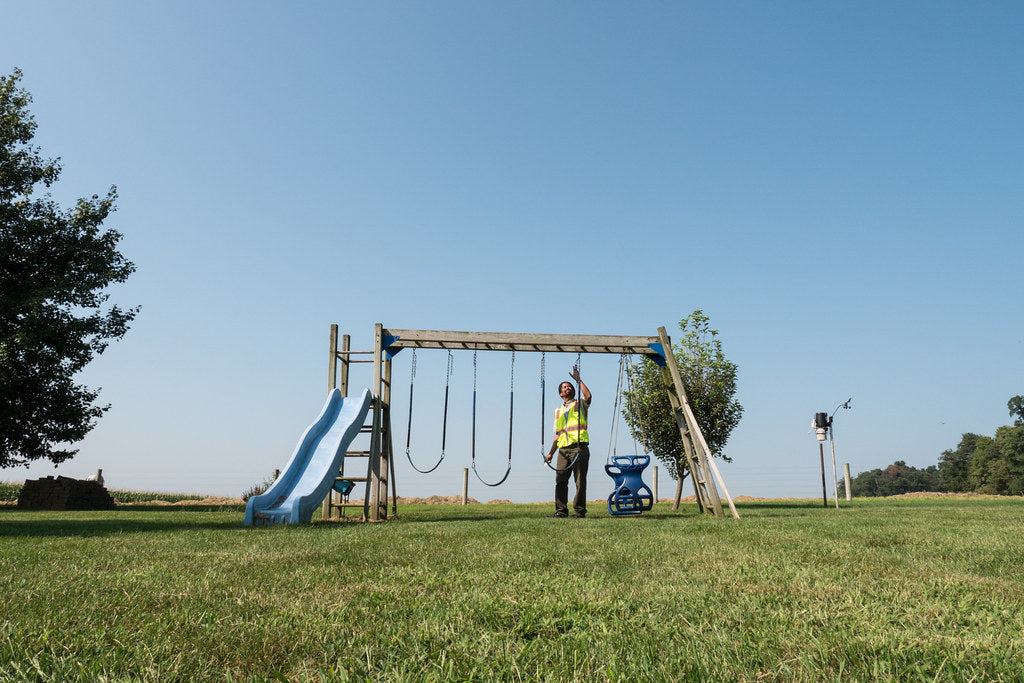 Why Do You Need Ground And Twist-In Anchors With Play And Swing Sets?