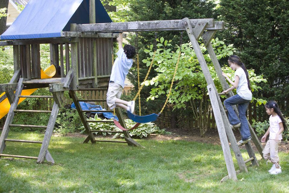 Wood vs Metal Swing Set: What You Should Buy!