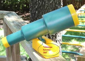 Pirate Telescope - Swing Set Accessory (Green)