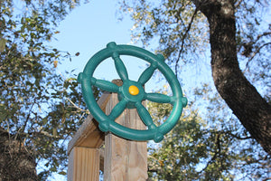 Pirate Ships Wheel - Green