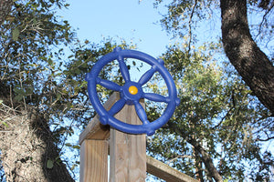 Pirate Ships Wheel - Blue