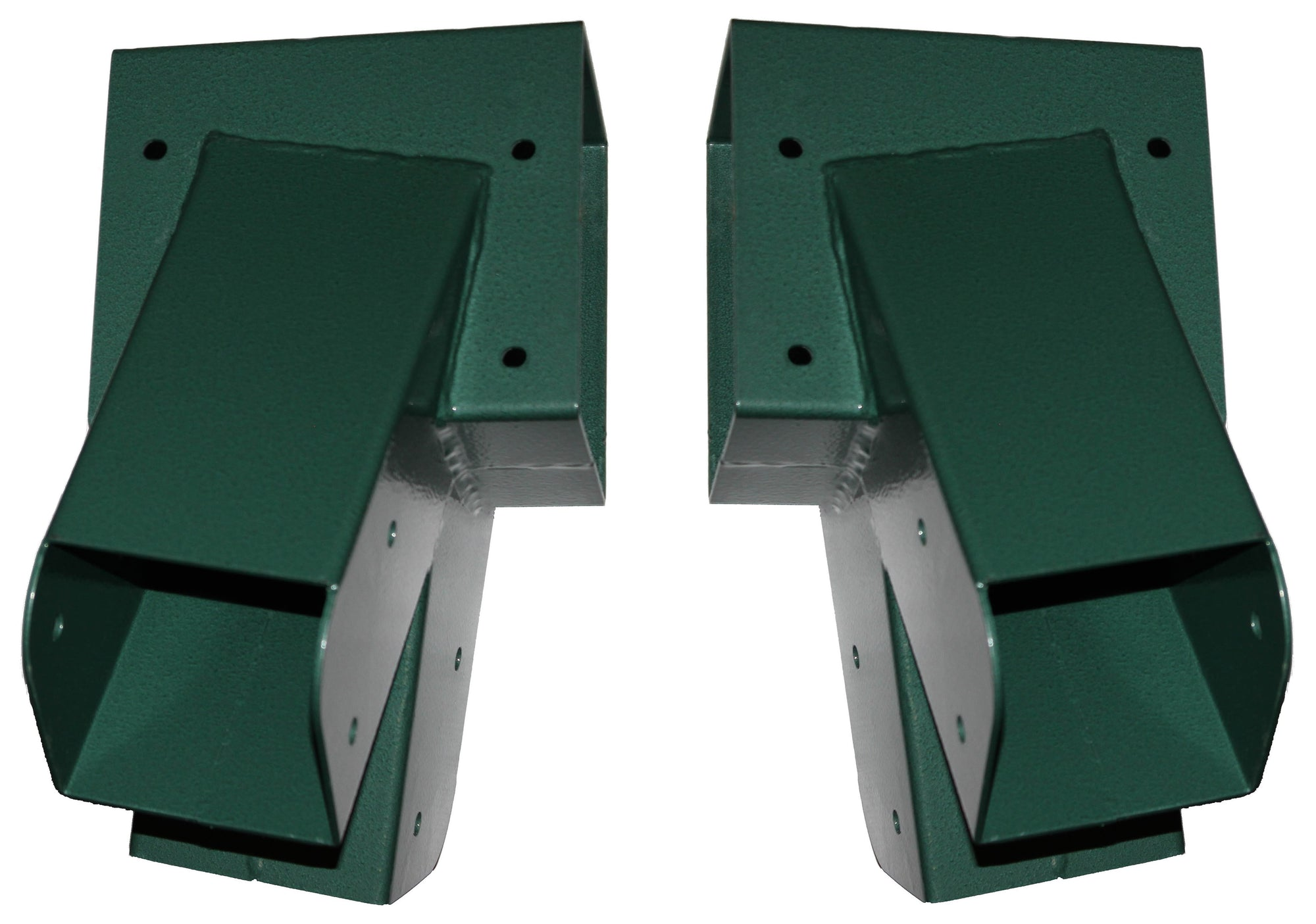 Jungle Gym Kingdom A-Frame 2 Brackets for Swing Set with All Mounting Hardware Green