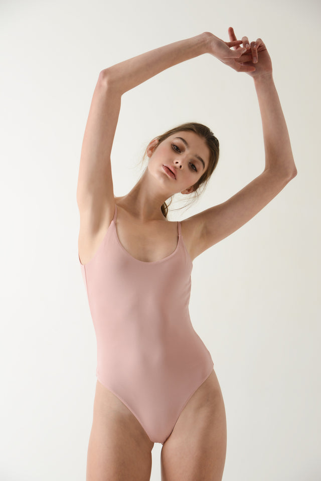 Leo Bodysuit - Rose